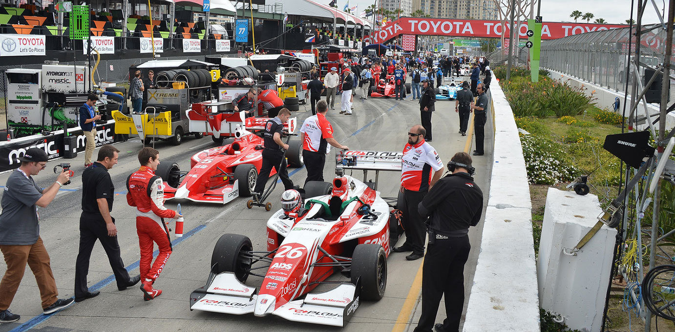 Zach Veach Indy Lights presented by Cooper Tires
