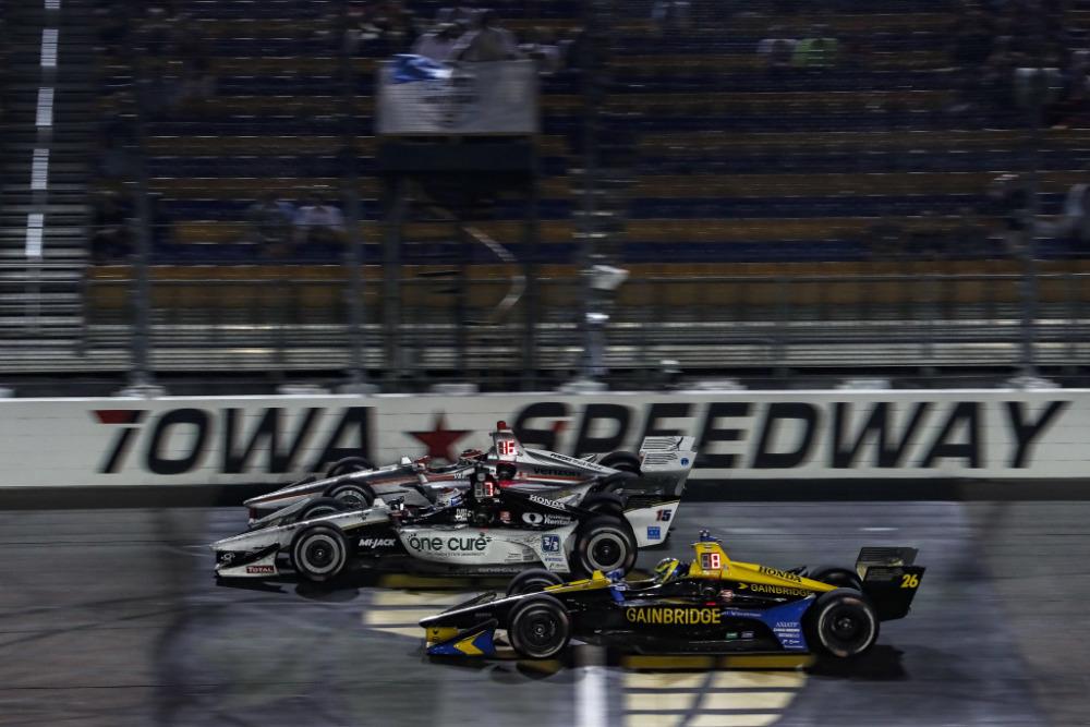 Veach racing Iowa Speedway